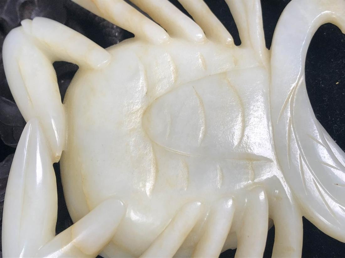 Chinese Jade Carving of Crab - 7