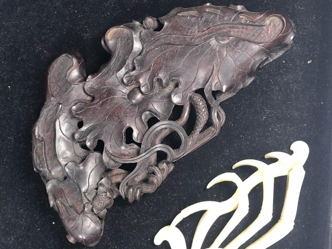 Chinese Jade Carving of Crab - 8