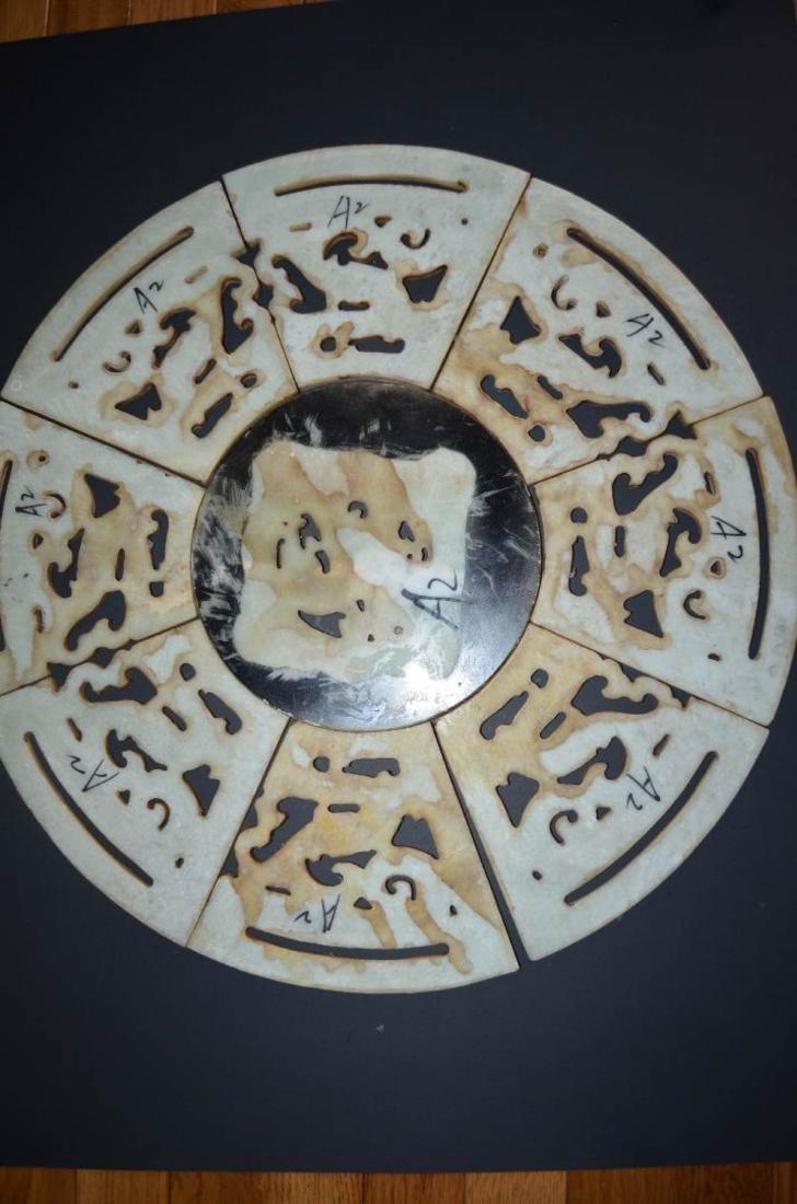 9 Pieces Jade Bi - 5
