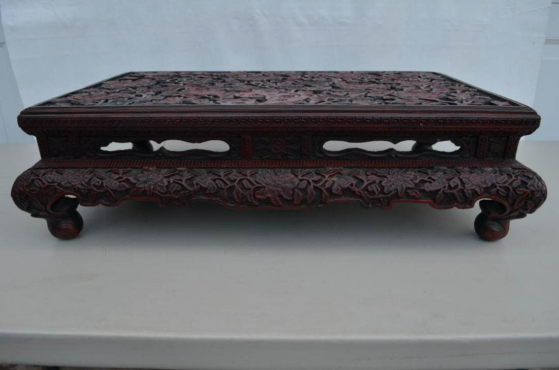Chinese Lacquer Table - 2