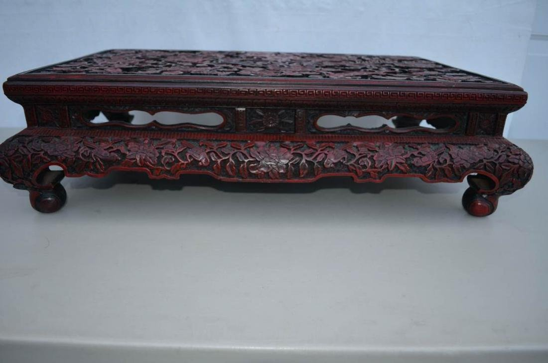 Chinese Lacquer Table - 8