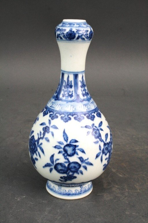 165: Blue and White Vase