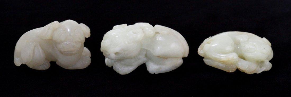 22: Chinese Jade Carving of Buddhist Beast