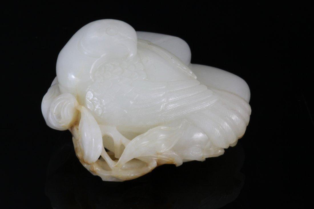 47: 18th Century Chinese White Jade Paper Weight