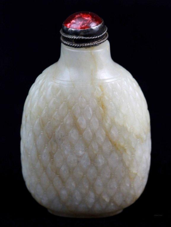 18: 19th C. Chinese Jade Snuff Bottle