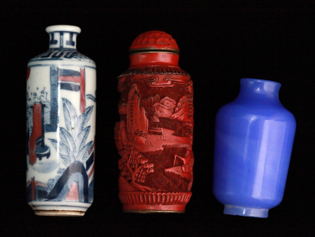 1: Group of Chinese Snuff Bottles