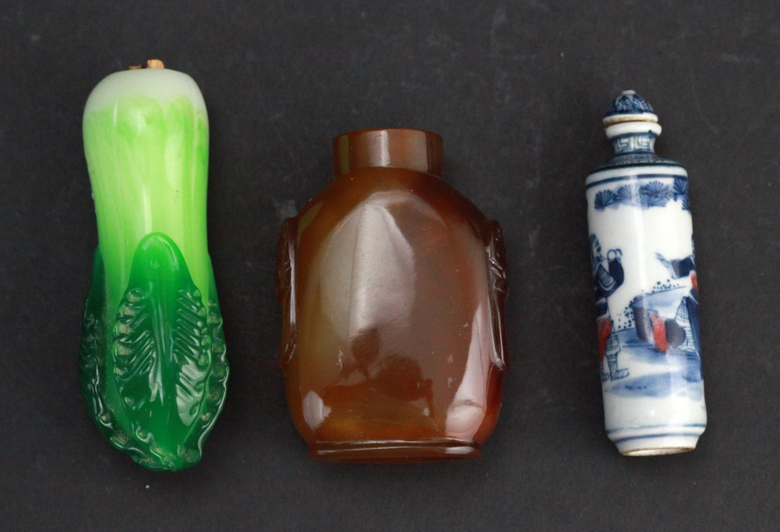 2: Group of Chinese Snuff Bottles