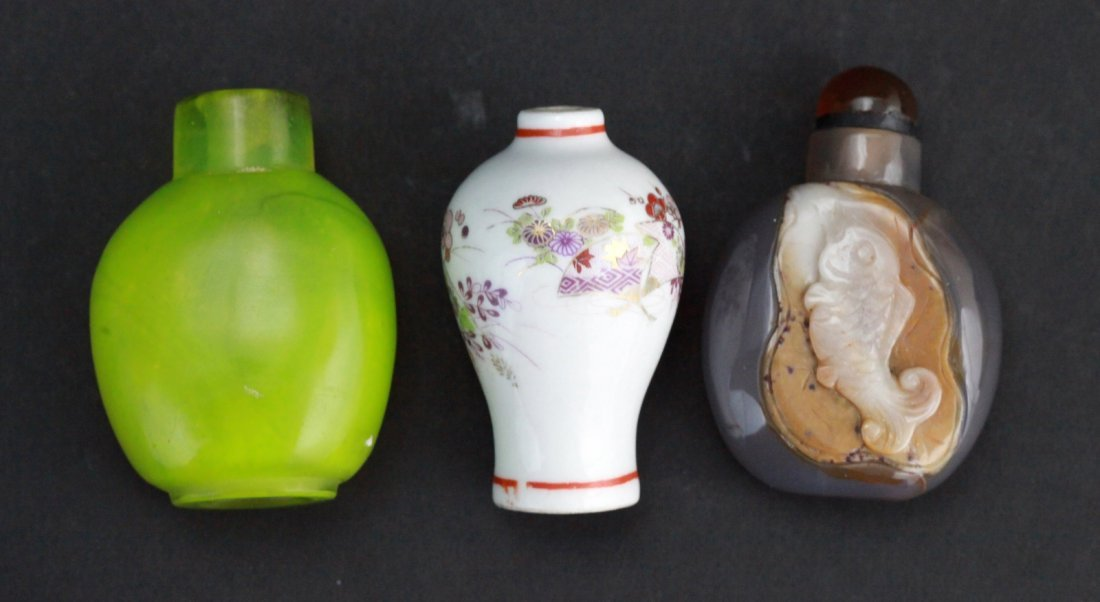 23: Group of Chinese Snuff Bottles