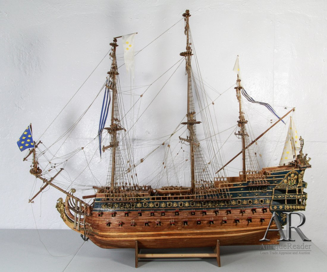 Man of War Modeling Ship