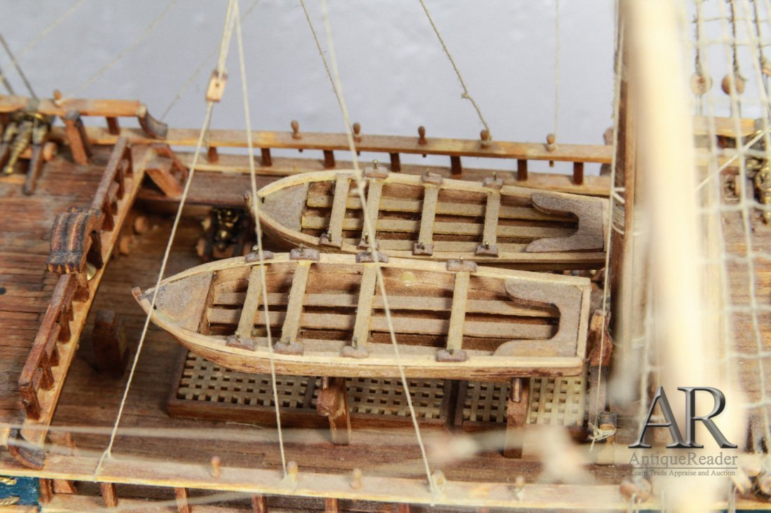 Man of War Modeling Ship - 6