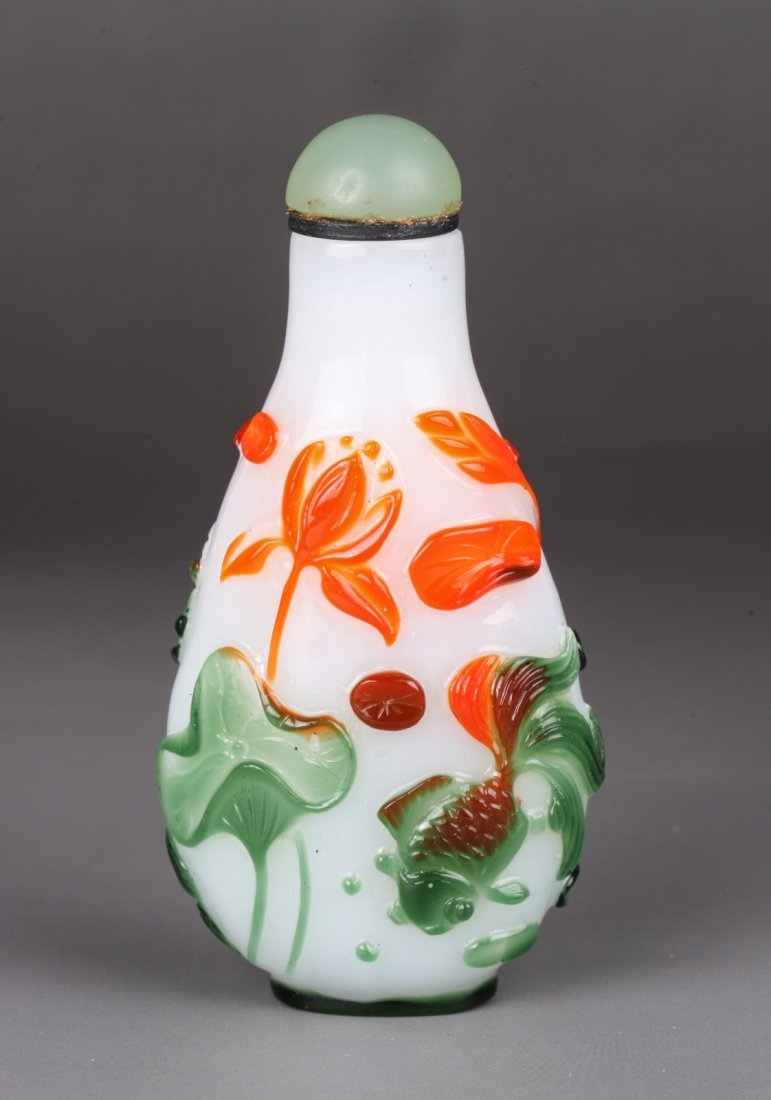 19th Century Chinese Glass Snuff Bottle