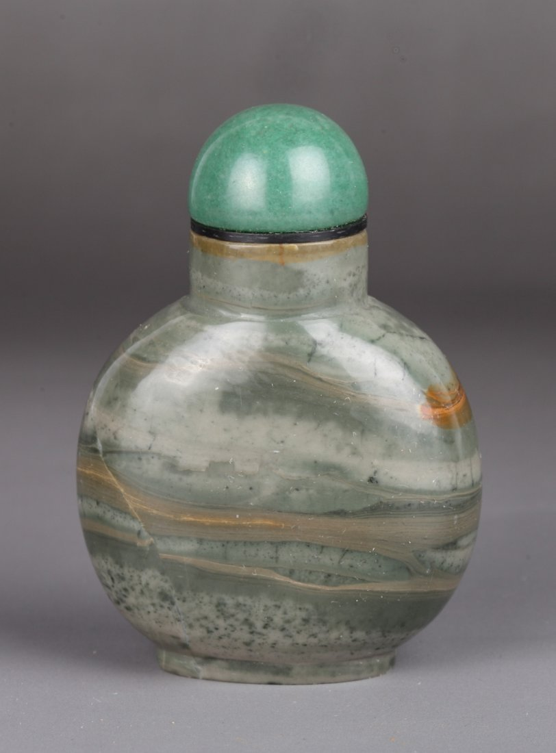 19th Century Chinese Agate Snuff Bottle