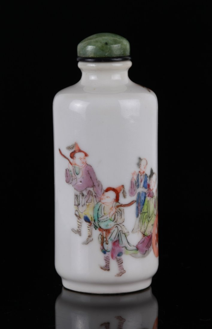 19th C. Chinese Porcelain Snuff Bottle