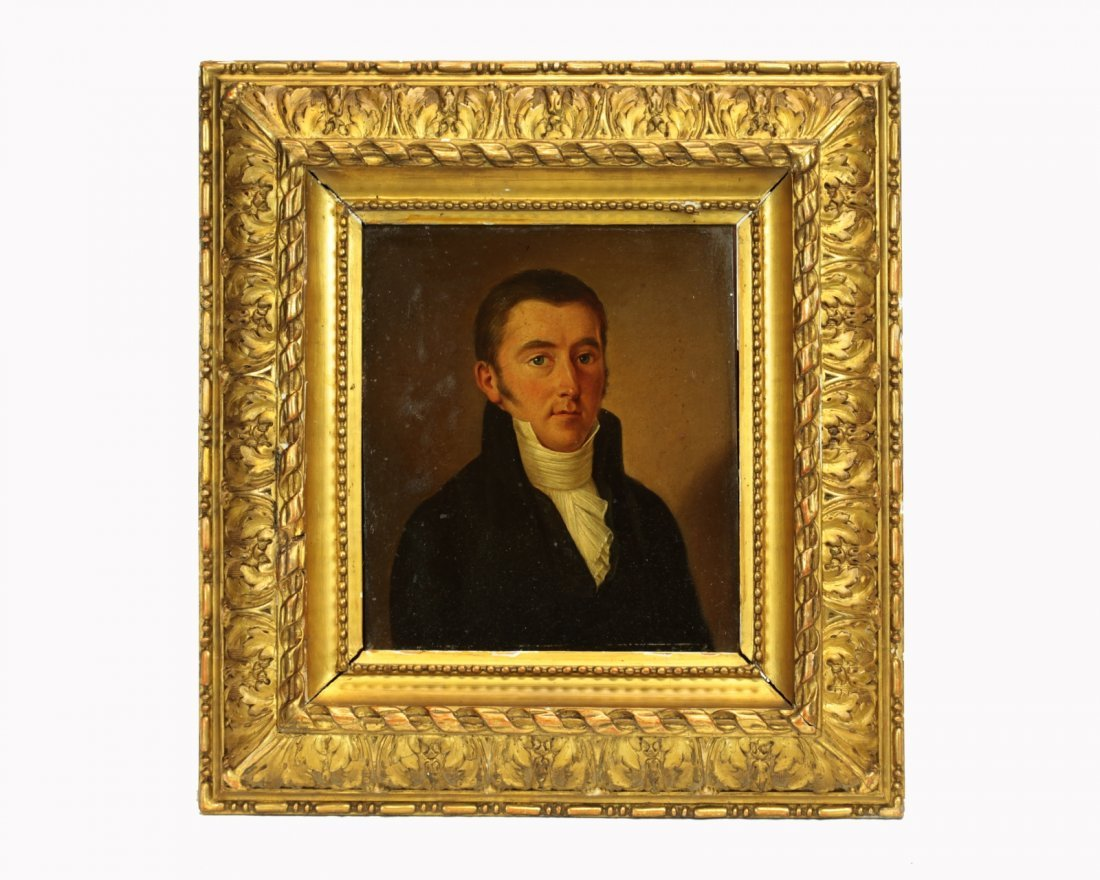 Late 18th/Early 19th Century Oil on Copper