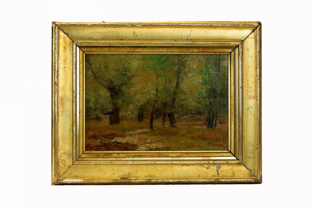 Stuber, Dedrick Brandes. Oil on Canvas.
