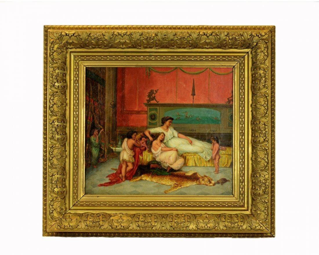 Oil on Canvas. Ancient Greek/Roman Subject