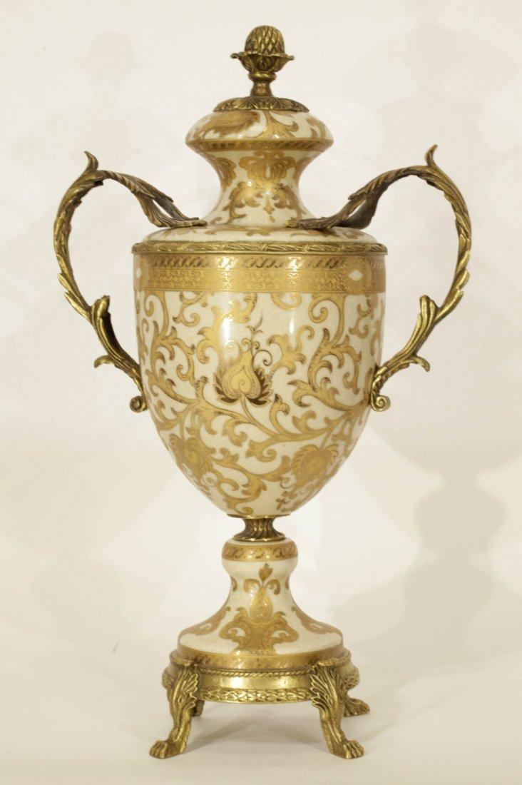 Porcelain & Enamel Urn