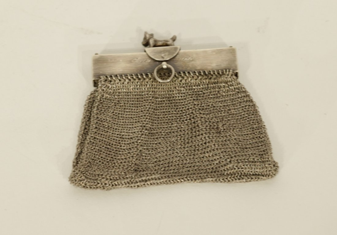 Cartier Sterling Silver Coin Purse