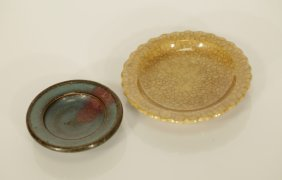 2 Pieces Of Chinese Junyao & Ge Yao Style Dishes