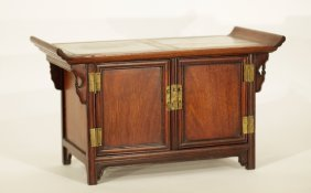 Chinese Huali Wood Cabinet