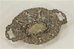 Sterling Silver Fruit Plate