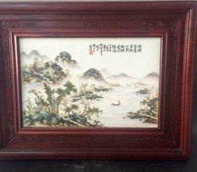 Republic Period Chinese Famille Rose Vase