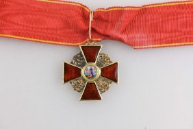 Imperial Russian Gold Order St.Anne 3rd Class