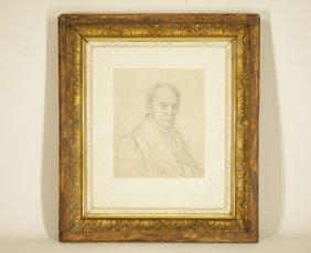 European Sketching Portrait Drawing of H.J.Hugralt