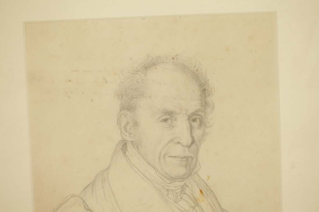 European Sketching Portrait Drawing of H.J.Hugralt - 7