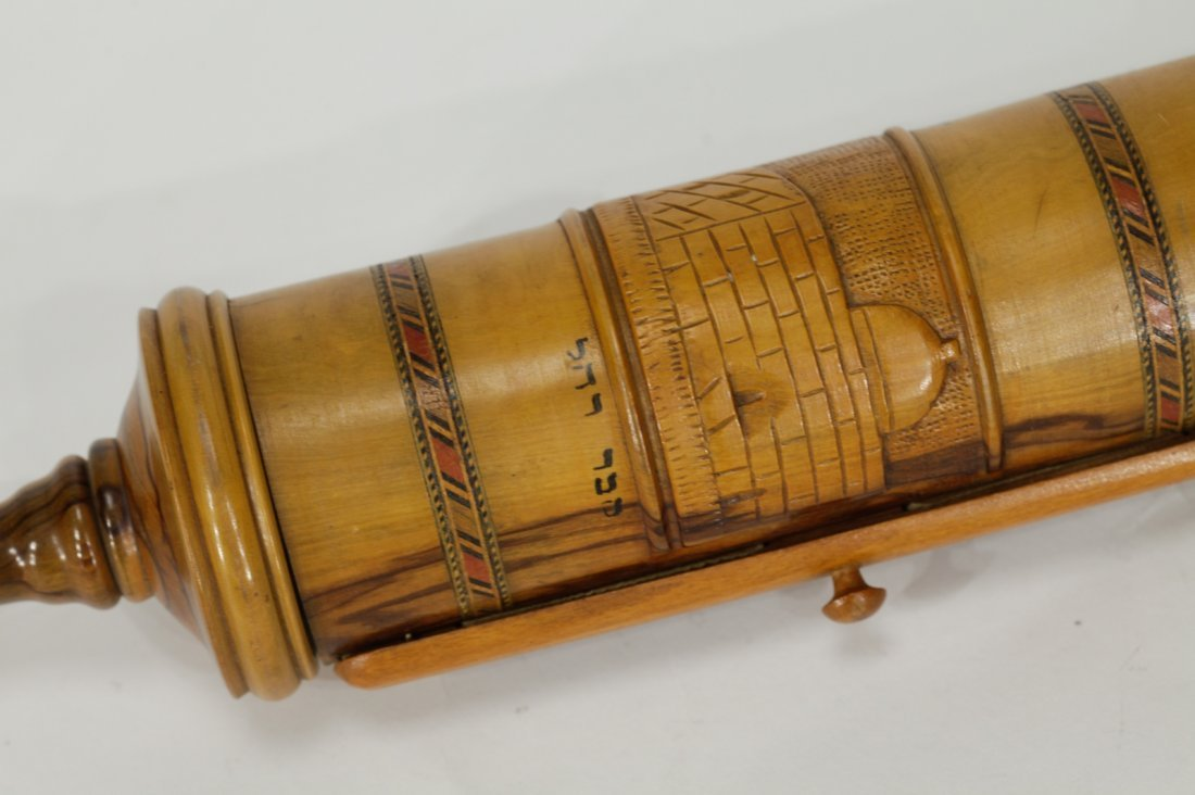 Scroll of Esther in Olive Wood Cover - 3