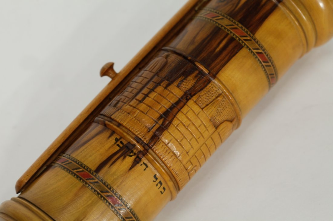 Scroll of Esther in Olive Wood Cover - 5