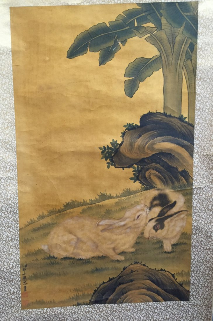 Chinese Ink/Color Scroll Painting