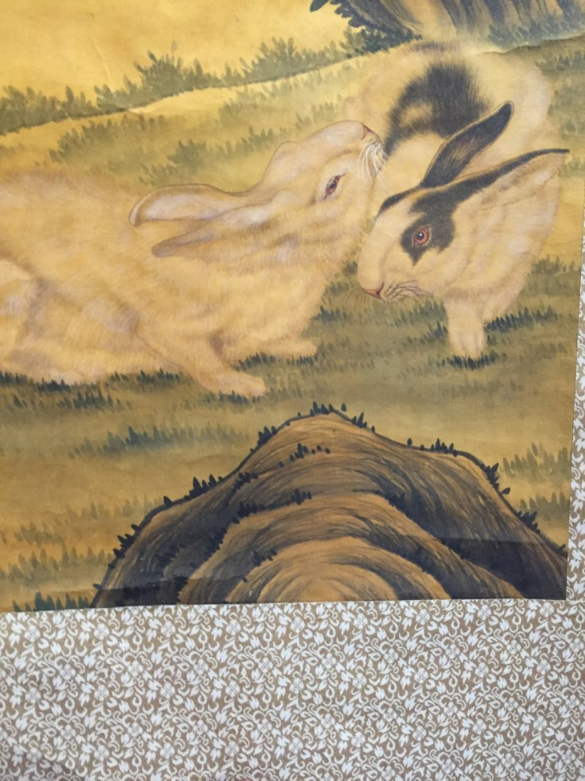 Chinese Ink/Color Scroll Painting - 4