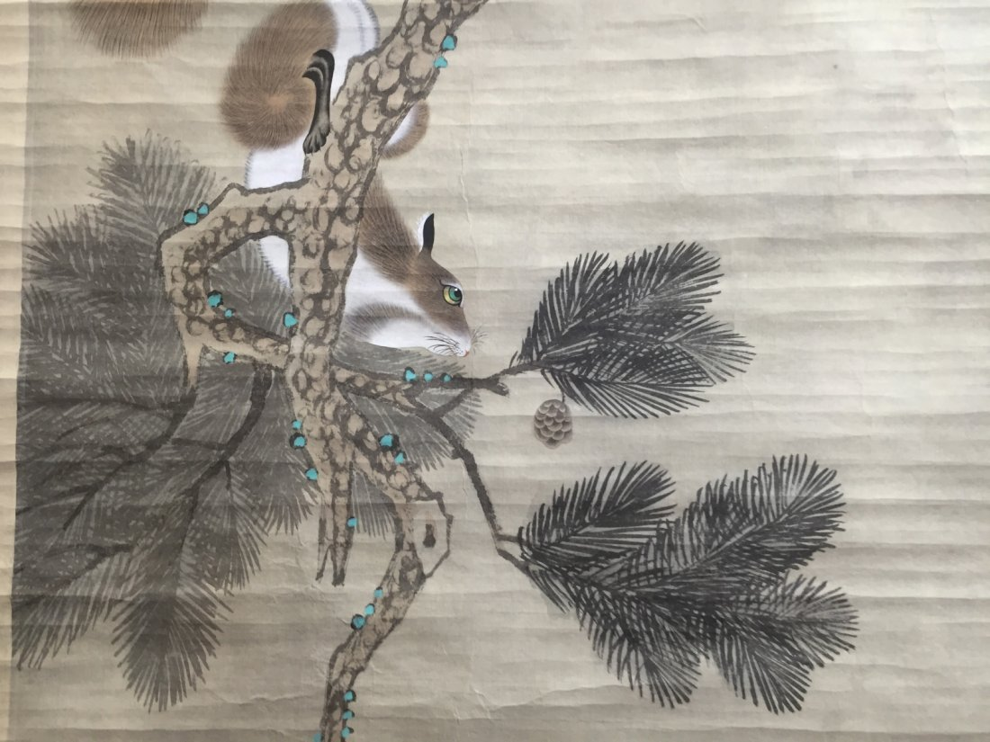 Chinese Ink/Color Scroll Painting - 5