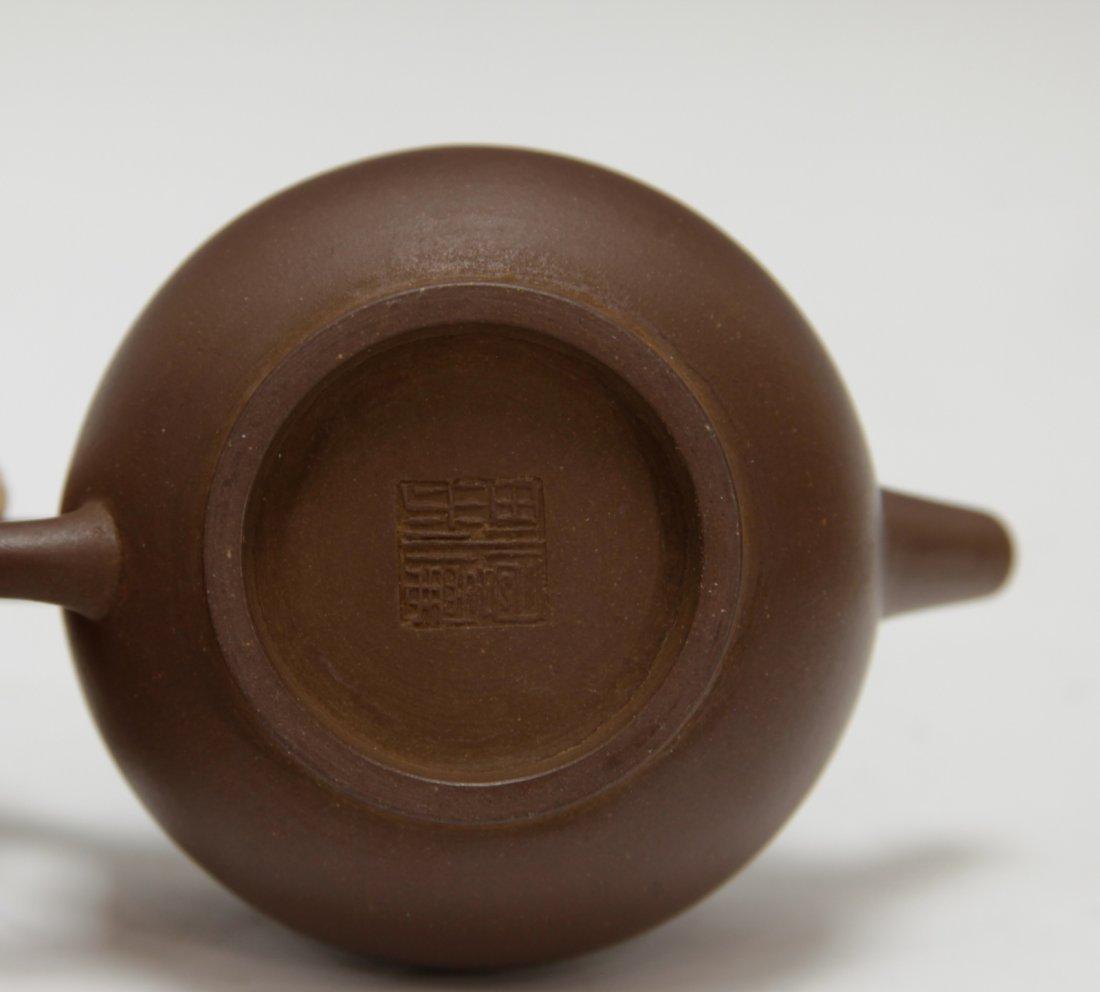 Chinese Republic Period Imitating Yixing Zisha - 7