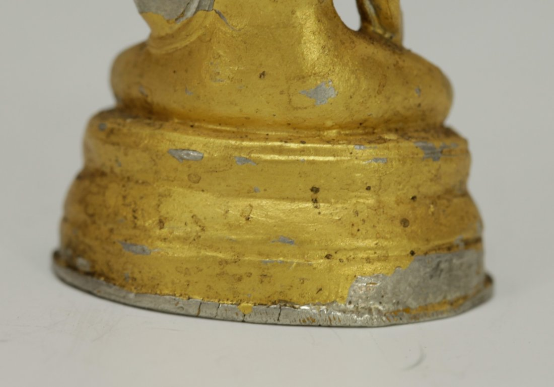 Chinese Bronze Buddha - 6