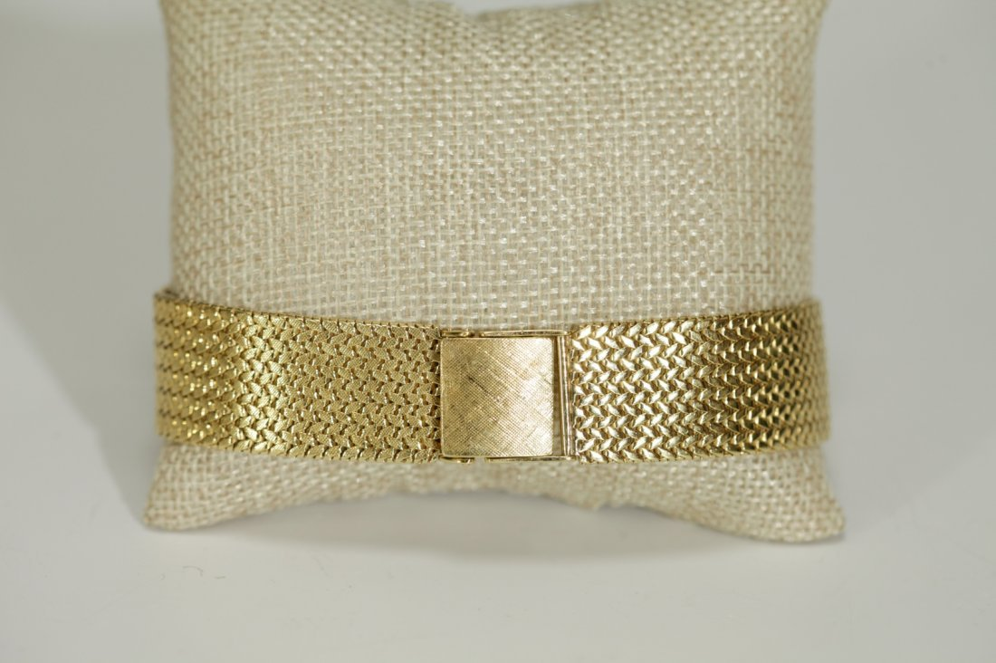 18K Gold Old Watch Band, 50 Grams, Marked(kt18)