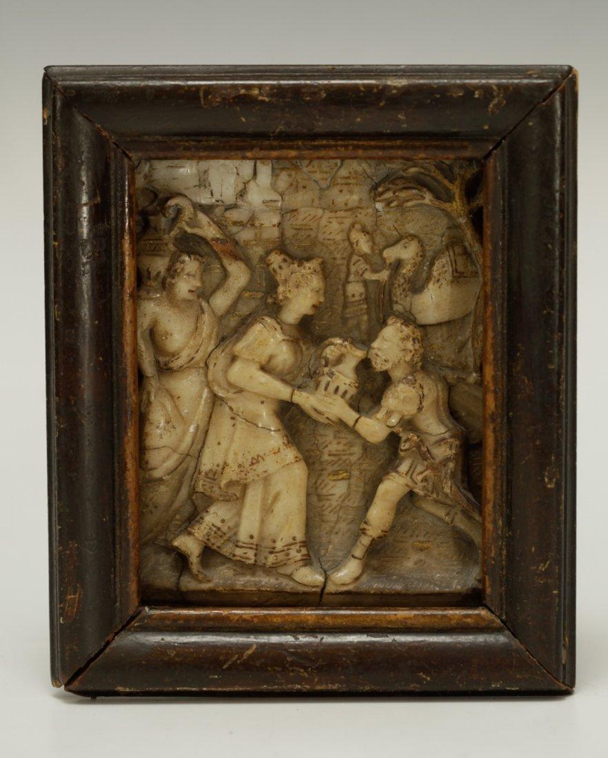 16th Century Judaica Soapstone Carving