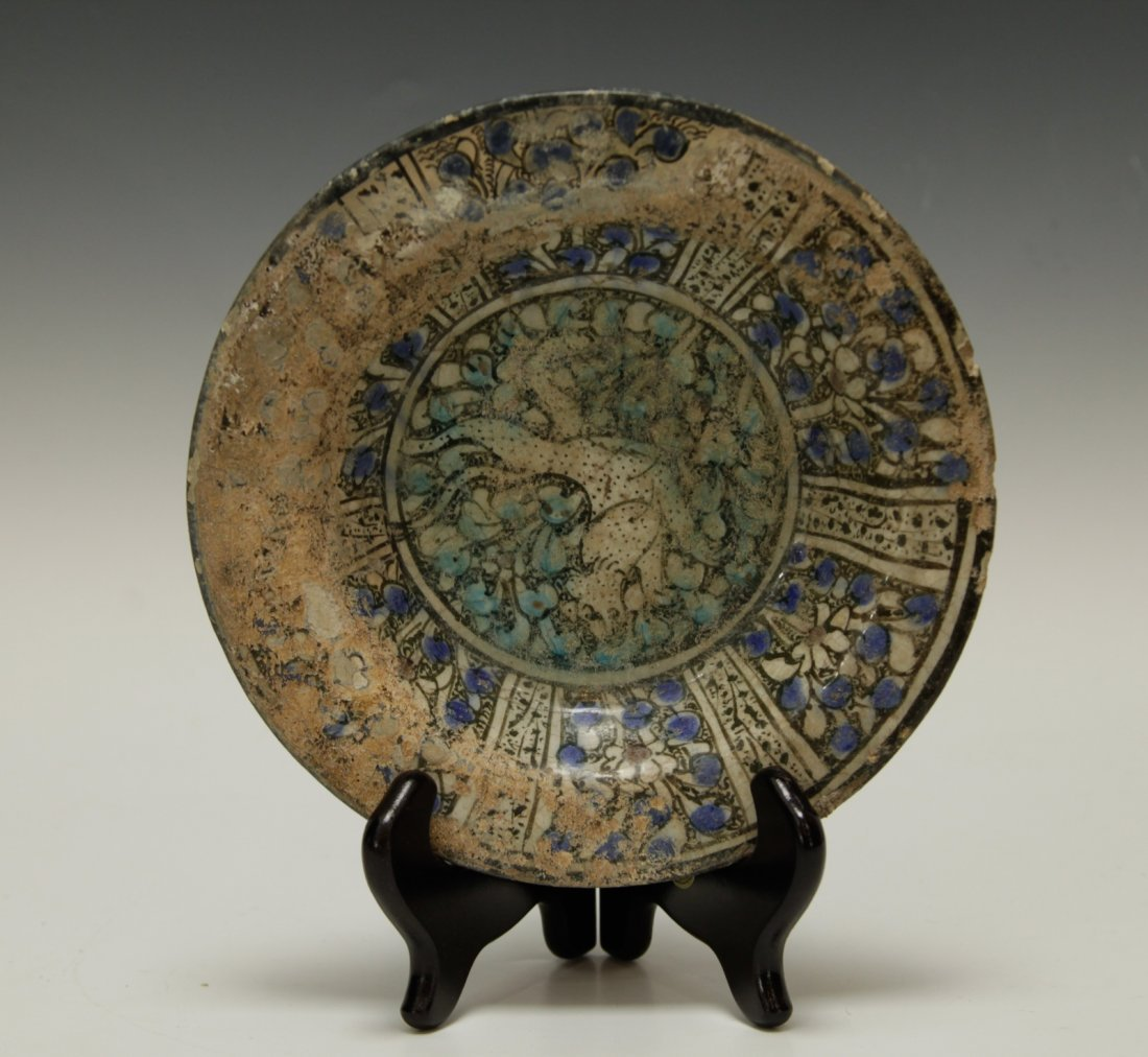 Ancient Pottery Plate w/ Planter(13th Century)