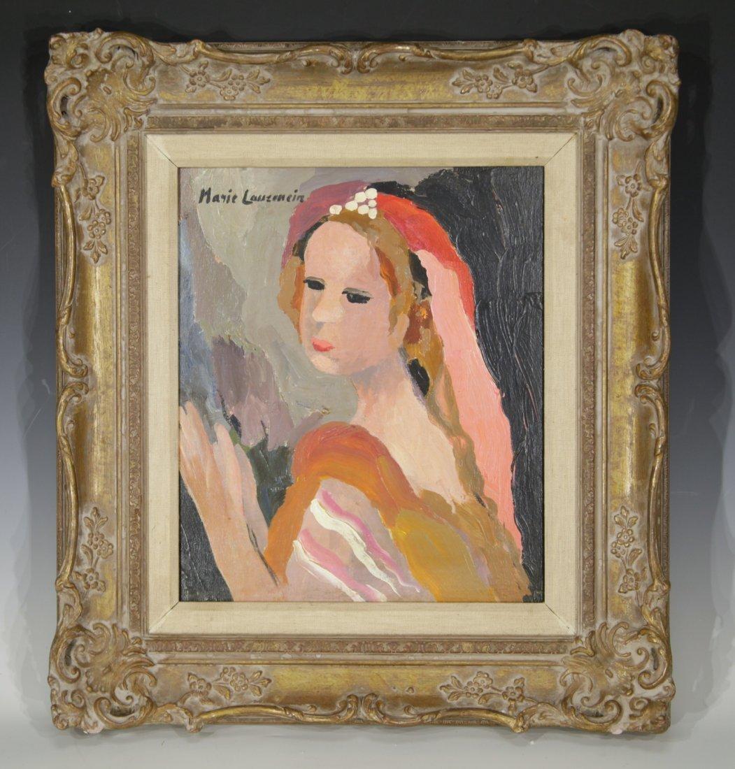 """Marie Laurencin""  1883-1956 Oil on Canvas"