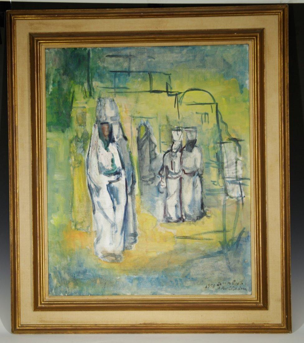 """Isidor Aschheim"" 1891-1968 German Israeli Artist"