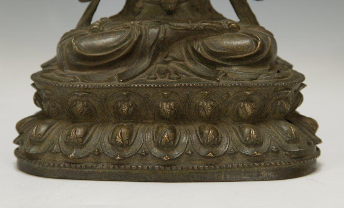 Chinese Bronze Buddha - 4