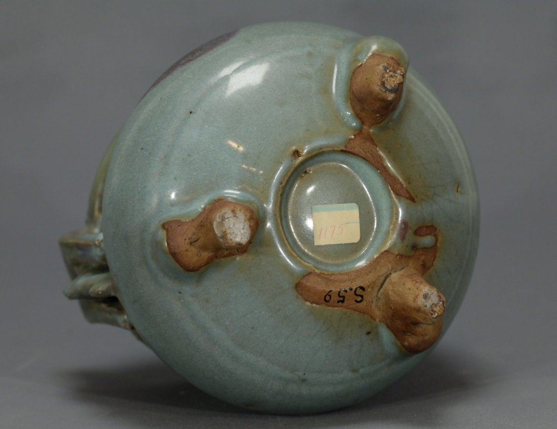 A Large Jun Glazed Incense Burner - 10