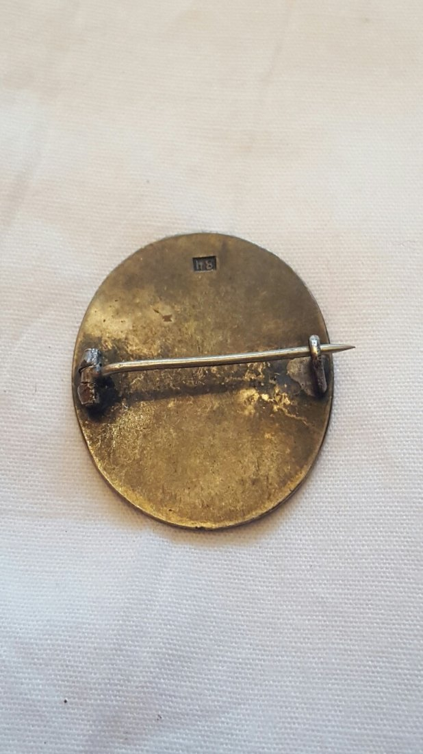 Antique Russian Silver pin Alexander III - 2