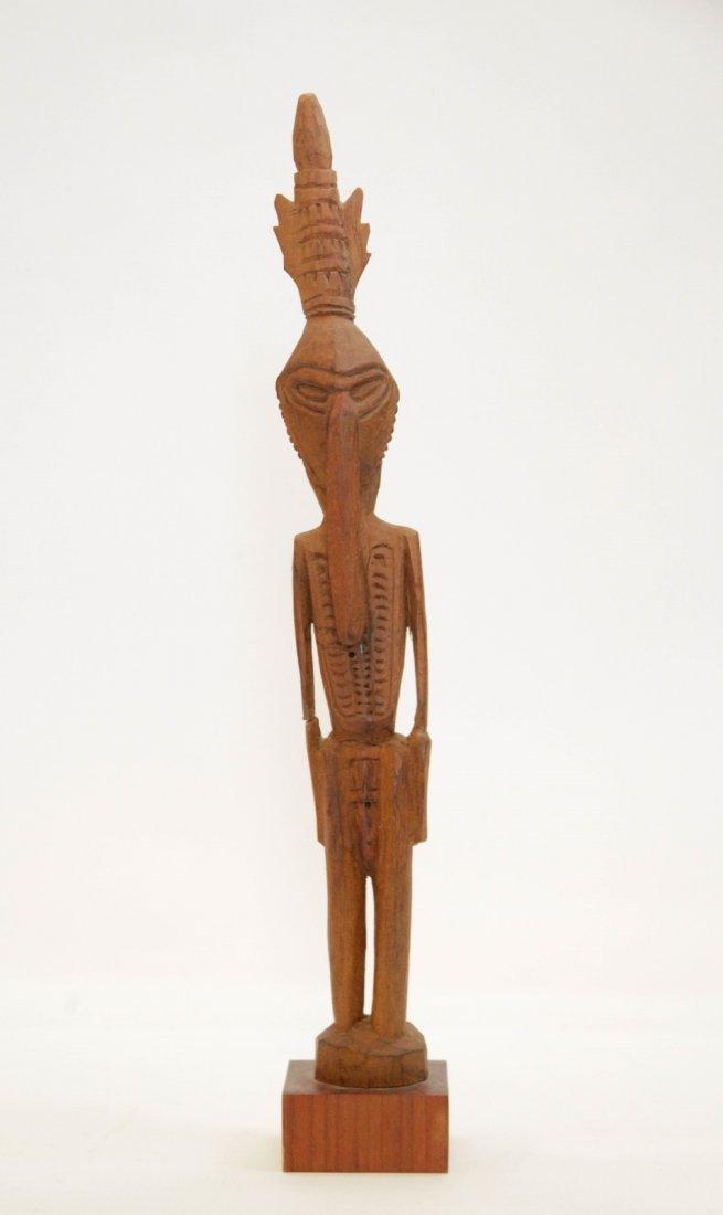 African Antique Wood Carved Figural