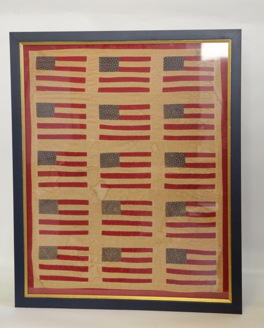 The American Flag with Frame