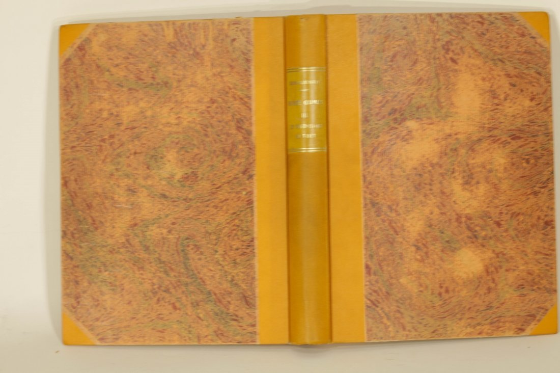French Made Reference Book of Buddha