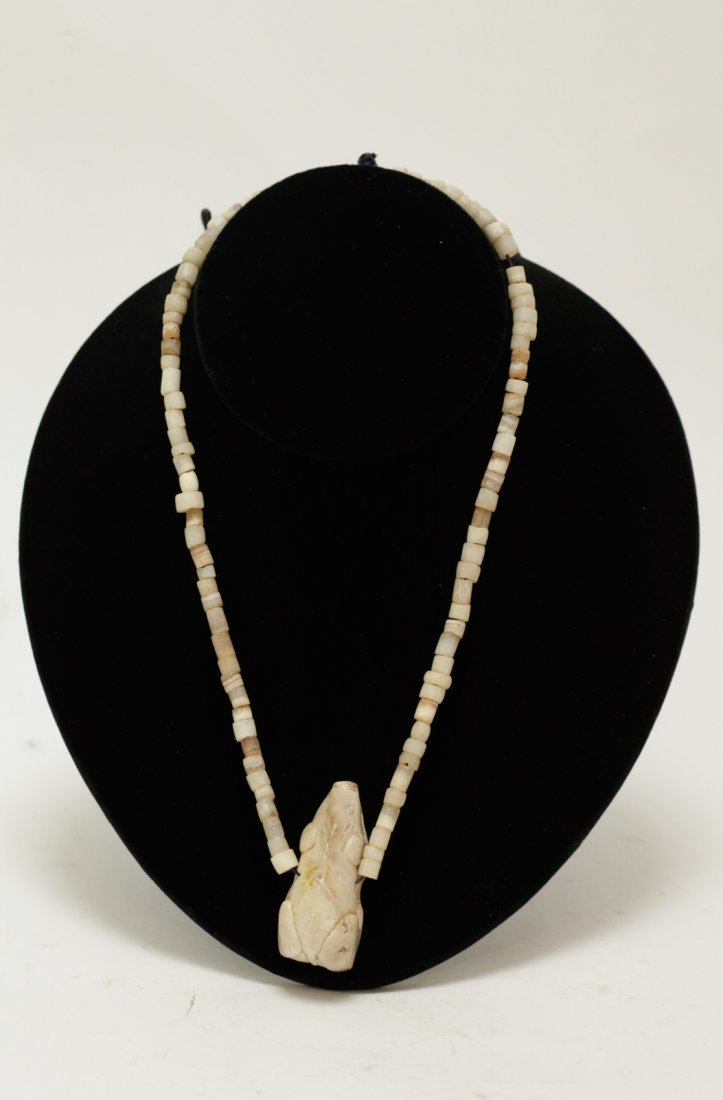Ancient Crystal& Agate Bead Necklace