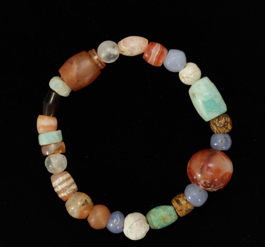 Bracelet of Rare Mixed Ancient Beads