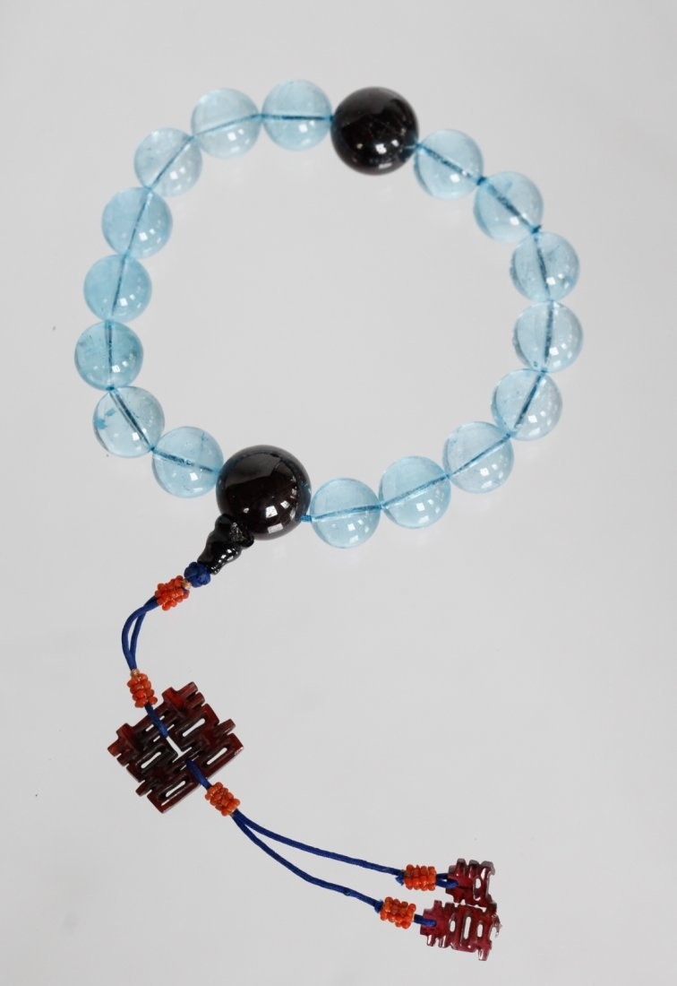 Chinese Amethyst Bracelet,